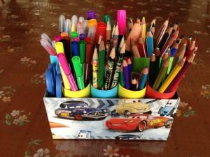 ceruzatartó használat során