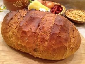 kenyér sárgaborsópürével, házi kenyér, kenyér recept, Kocsis Hajnalka receptje, www.mokuslekvar.hu