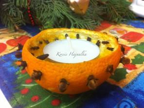 karácsonyi mécsestartó, www.mokuslekvar.hu