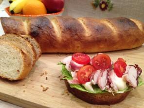 kenyér, kenér recept, francia zsúrkenyér, házi kenyér, Kocsis Hajnalka receptje, www.mokuslekvar.hu