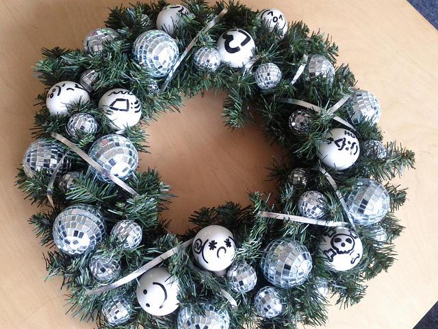 karácsonyi koszorú9
