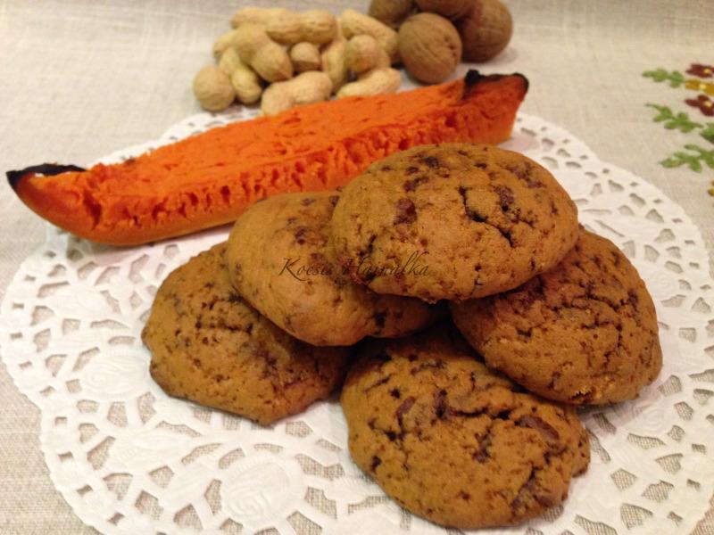 sütőtökös keksz, keksz recept, házi keksz, Kocsis Hajnalka receptje, www.mokuslekvar.hu