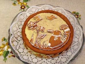húsvéti mézeskalács torta, Kocsis Hajnalka receptje, www.mokuslekvar.hu