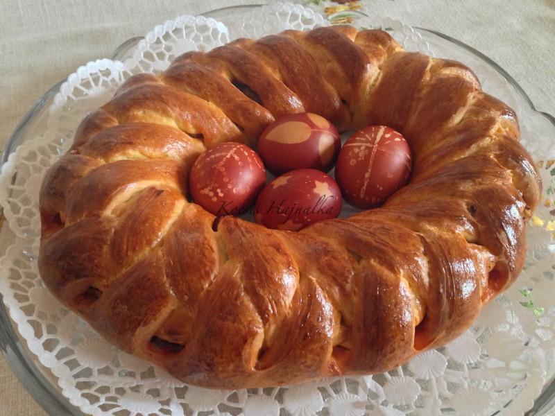 húsvéti töltött kalács, Kocsis Hajnalka receptje, www.mokuslekvar.hu