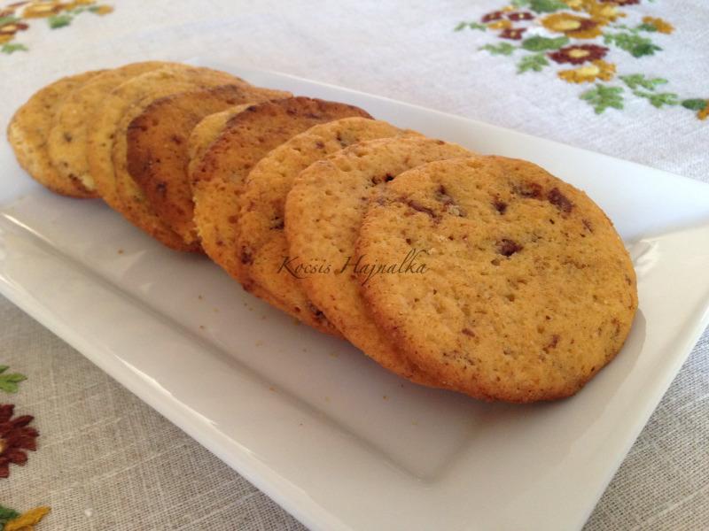 francia csokis keksz, Kocsis Hajnalka receptje, www.mokuslekvar.hu