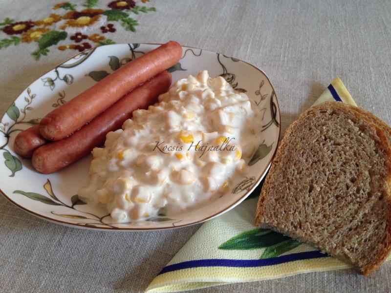 kukorica saláta, Kocsis Hajnalka receptje, www.mokuslekvar.hu