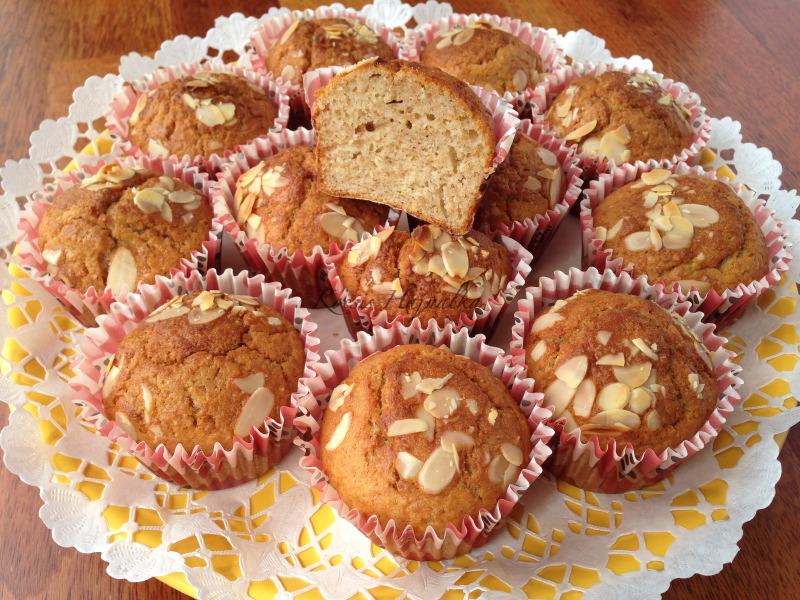 muffin teljes kiőrlésű lisztből, Kocsis Hajnalka receptje, www.mokuslekvar.hu