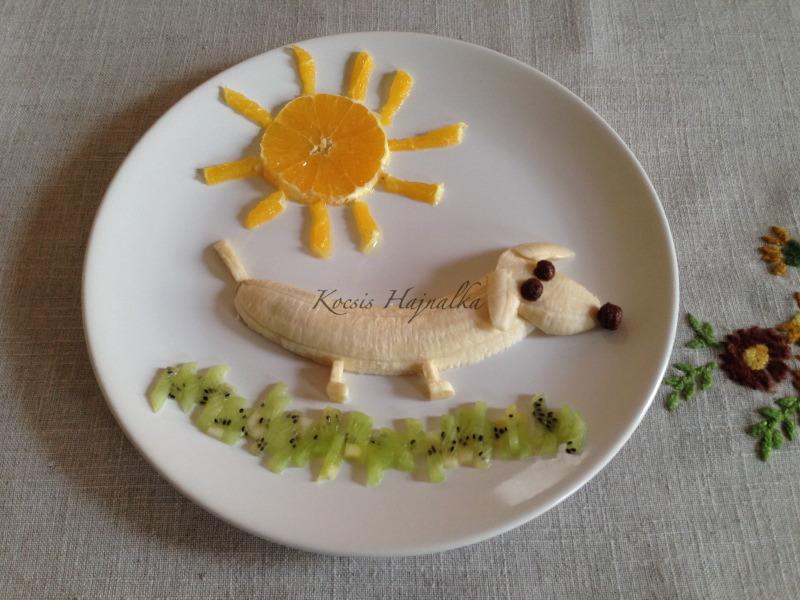 gyümölcstál, Kocsis Hajnalka receptje, www.mokuslekvar.hu