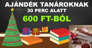 ajándék tanároknak